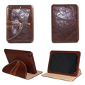 For Apple ipad min 4 3 2 case 360 rotating smart sleep protective genuine Leather ipad