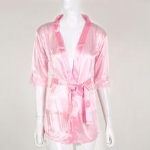 High Quality Women Satin Lace Silk Soft Underwear Lingerie Nightdress Sleepwear Robe Sexy Pajamas Nighty(China (Mainland))