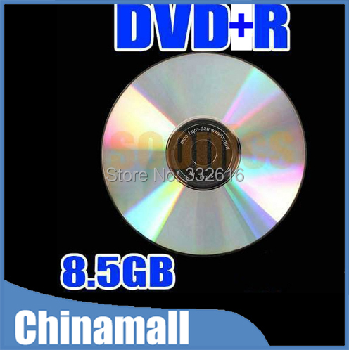 Wholesale 10pcs/lot 8X Blank Disks Recordable Printable DL DVD-R DVD +R DVDR Disc Disk 8.5GB Free Shipping(China (Mainland))