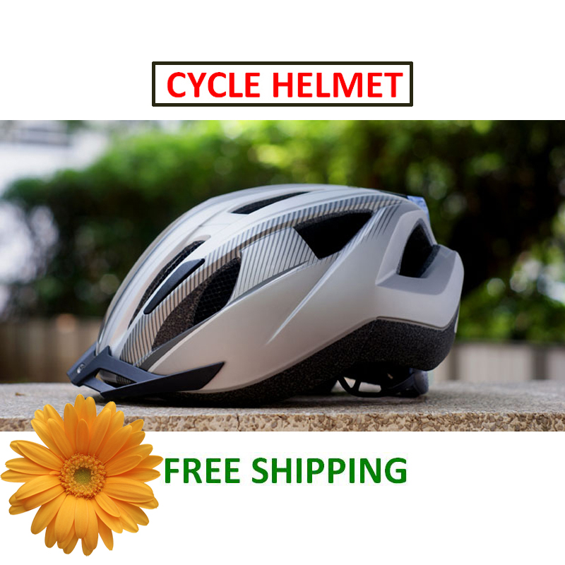Brand New High Quality Crivit Cycling Sports 11 Air Vents Breathable Ultralight Mountain Road Bike LED Rear Light Bicycle Helmet(China (Mainland))