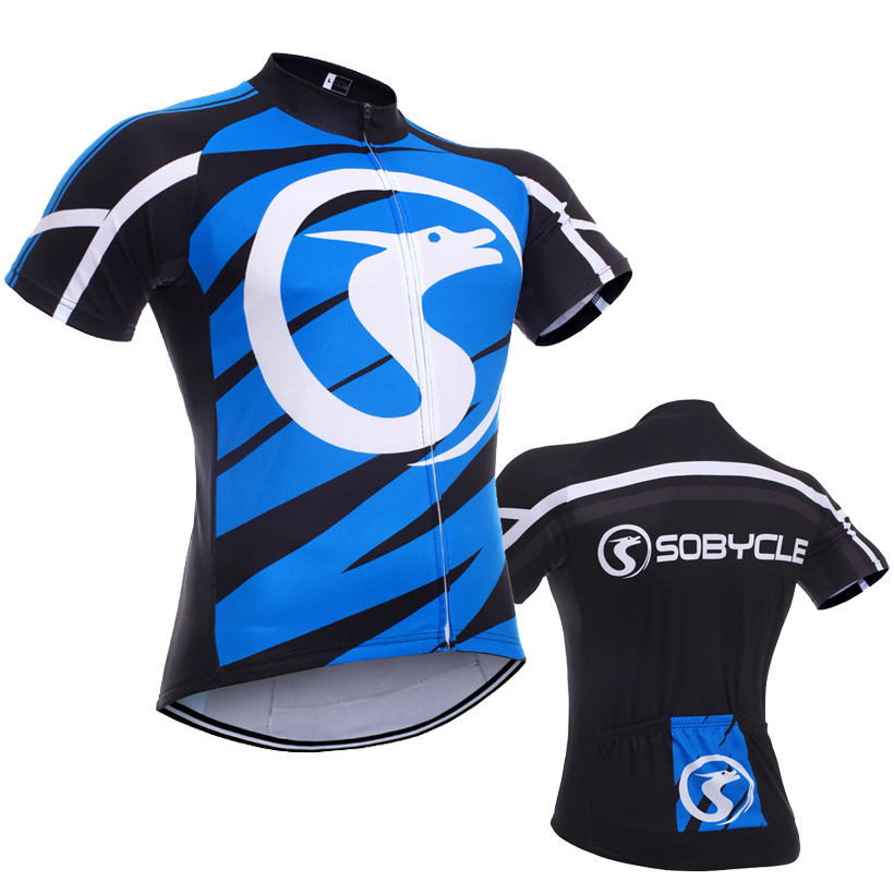 2016 Cycling team Jersey Ropa Ciclismo brand Sobycle Blue specialized Bike jersey BICYCLING Maillot Summer cycle wear(China (Mainland))