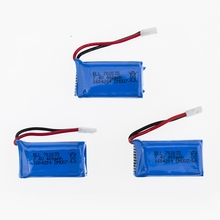 Dm007 drone Part Upgraded 7.4V 400mAh Lipo Battery for DM007 Global GW007 RC Quadcopter 3pcs