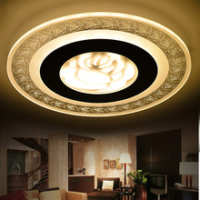 2016 Ultrathin acrylic modern LED Ceiling Lights for Living Room ceiling lights bedroom Decorative lampshade Lamparas de techo(China (Mainland))