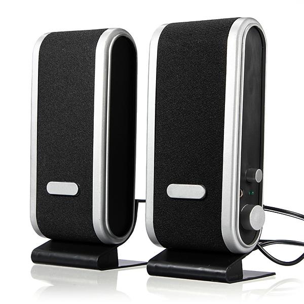 [해외]PC를아주 새로운 120W의 USB 전원 3.5mm의 귀 잭의 80Hz-2..