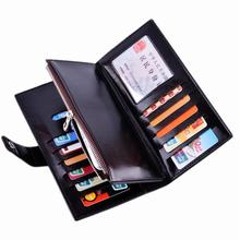 New Genuine Leather Women Wallet Zipper Multifunction Long Wallets Ladies Clutch Handbag Lover carteira Coin Purse Card Holder