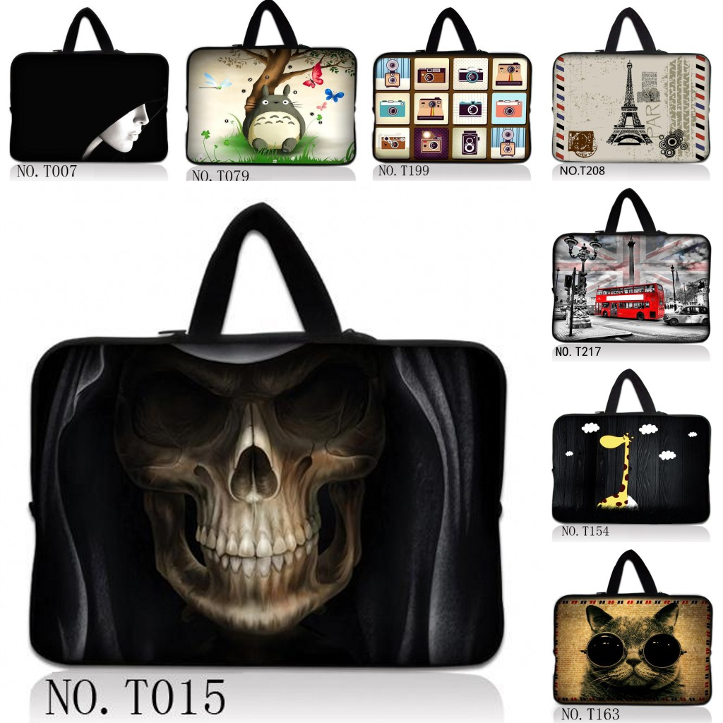 """17"""" Laptop Carry Bag Sleeve Case+Hide Handle For 17.3"""" HP Dell Asus Sony Toshiba /17.3"""" HP Pavilion DV7 E17 G7 / Dell XPS(China (Mainland))"""