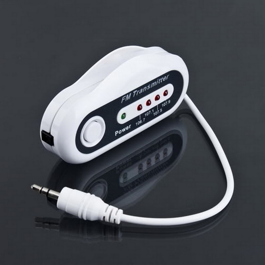 4 Channel Wireless FM Transmitter Audio fm Modulator Car Charger for iPod MP3 MP4 hot selling(China (Mainland))
