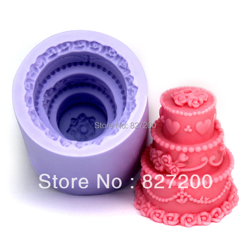 DIY jelly dessert mould soap wedding mould birthday cake candle mold chocolate handmade soap mould polymer clay tools S0093DG37(China (Mainland))