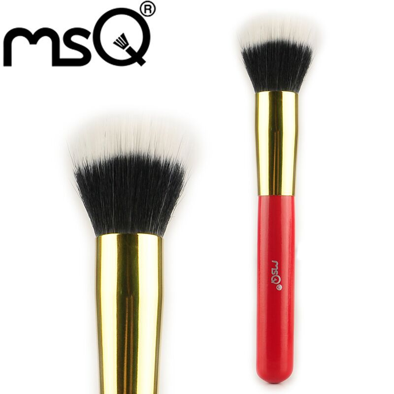 Free Shipping Retailer MSQ Brand Professional Powder Makeup Brush For Fashion Beauty Cosmetic Tools Big Discount(China (Mainland))