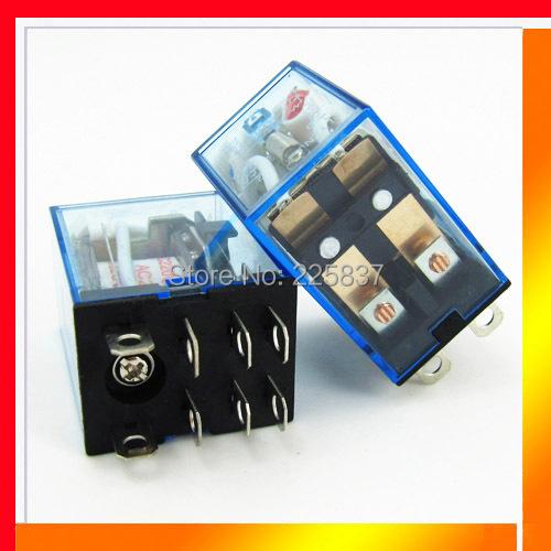 HH62P LY2 (10 Pcs) good quality LY2NJ JQX-13F mini rele relay relais 12v 24v 48v 220vac 10A electronic dpdt free shipping(China (Mainland))