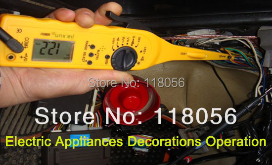 2015 Auto circuit detector car tester ,multimeter, test lamp,voltage test, lighting lamp and probe multiple function auto tool(China (Mainland))