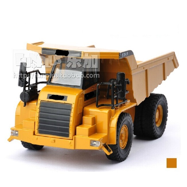 High Simulation Model Toys Children Baby Toys Car Styling Caterpillar Off-Highway Trucks Model Alloy Truck Model Excellent Gifts(China (Mainland))