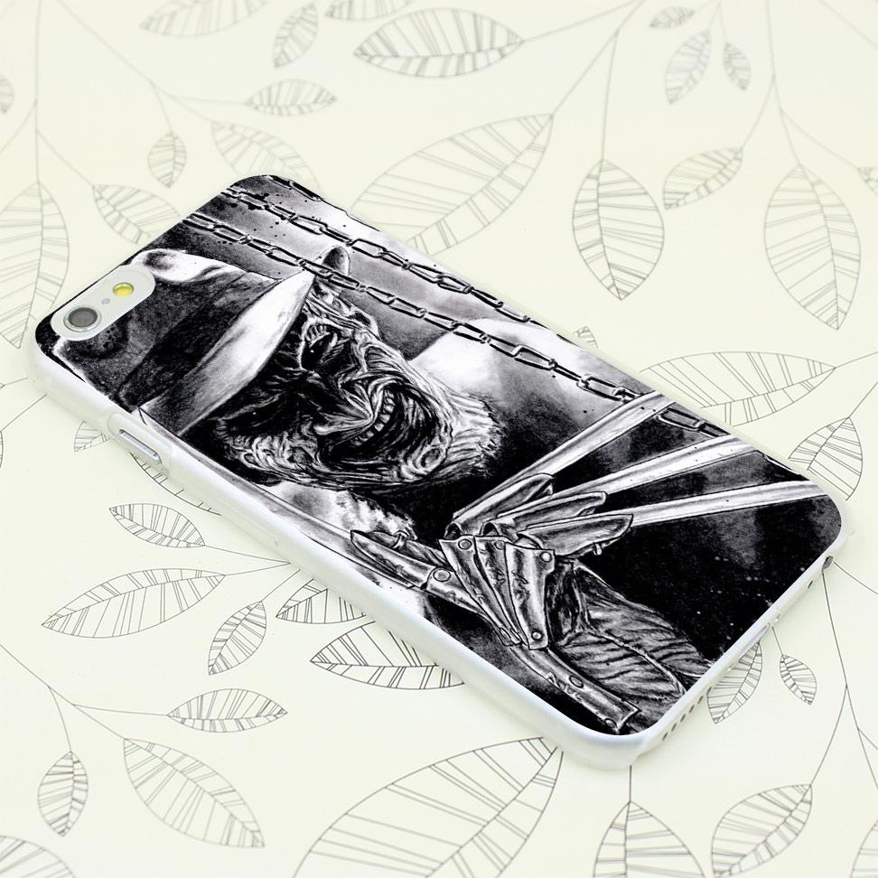 401F Freddy Krueger Hard Transparent Case Cover for iPhone 7 7 Plus 4 4s 5 5s 5c SE 6 6s Plus