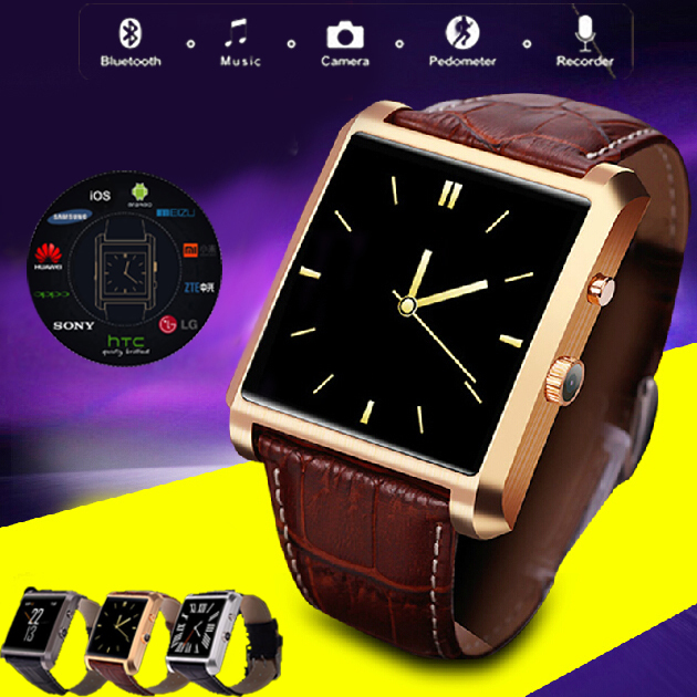Lemfo /ios Bluetooth 4.0 Smartwatch IPS 1.3MP MT 2502A