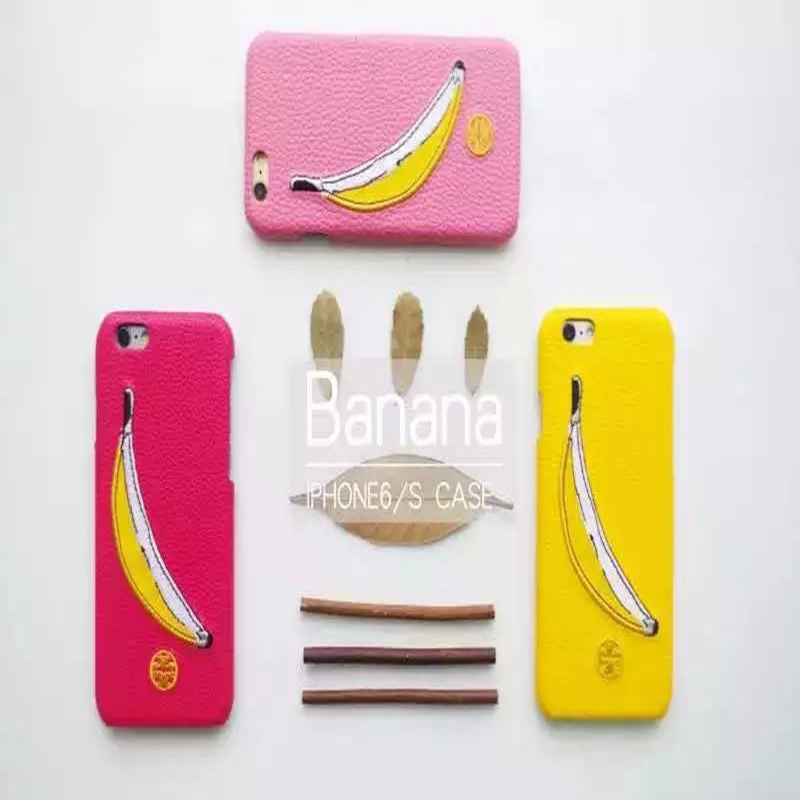 New Arrival Torrey banana tricolor popular models stay Moe Monkey for iPhone 6 6s 4.7 / 6 plus 5.5 Phone cases coque(China (Mainland))