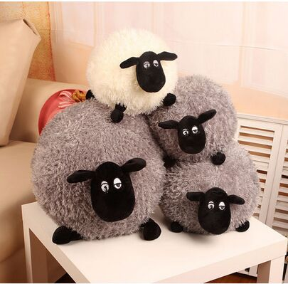 Free Shipping Shirley Sean lamb doll toy doll fleece pillow  valentine gift to send girls For Children's Gift Kids Toys