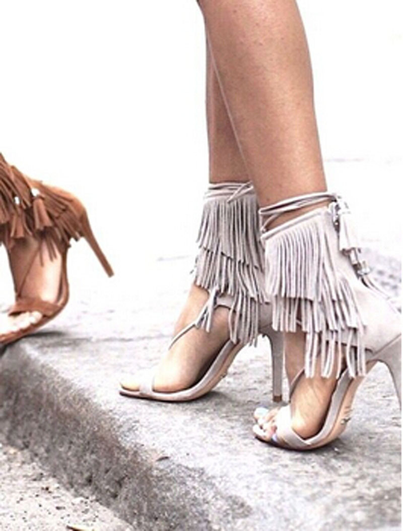 High Heel Gladiator Sandals Shoes