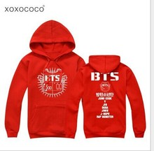 bts jacket bts kpop clothes bts hoodie women sportswear bangtan boys album exo poster Long sleeve