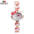 Hello Kitty Watch Kids Watches Cute Children s Watches Baby Girl Cartoon Watch Clock Gift saat