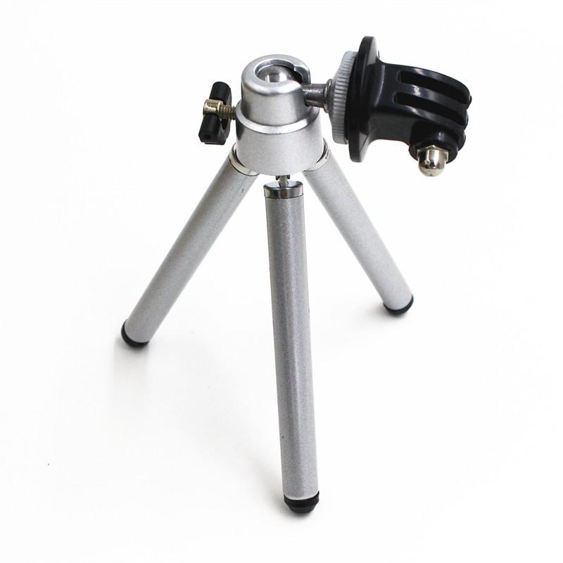 CENINE Mini Foldable Monopod Stand Tripod for Go Pro Camera Tripe Mount Adapter For Gopro Hero 4 3 Xiaomi Yi Sj4000 Accessories
