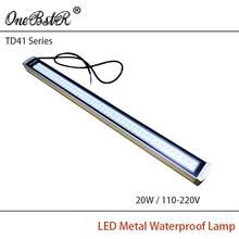 HNTD  TD41-20W 110/220V Led Metal Panel Light CNC Machine Tool Waterproof Explosion-proof led Astigmatism led work light(China (Mainland))