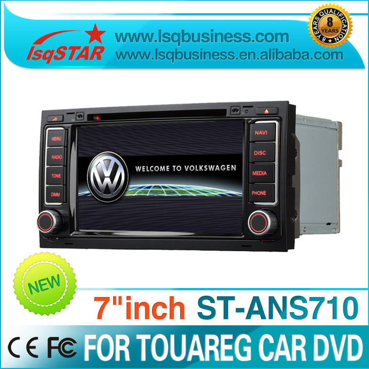Car DVD Player GPS Special For Volkswagen Touareg with bluetooth,PIP,3G,IPOD,USB,TV,Radio,wheel steering control function(China (Mainland))