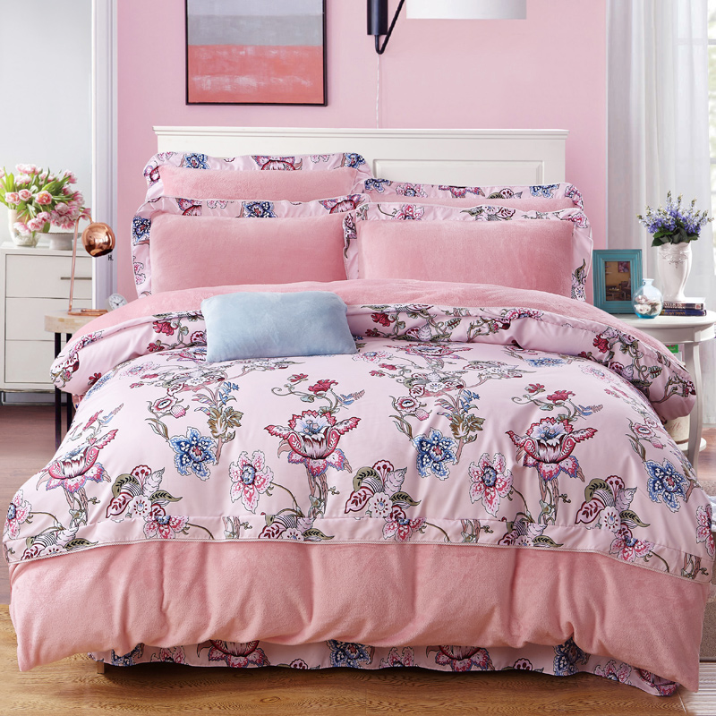Popular pink fleece sheets buy cheap pink fleece sheets for How to buy soft sheets