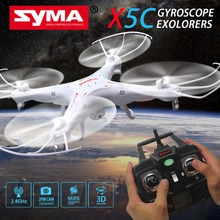 SYMA X5C Drone with Camera Headless Remote Control 2.4G 6-Axis dron RC Helicopter Quadcopter Toys VS Syma X5SW