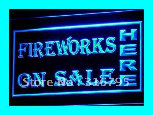 i140-b OPEN Fireworks On Sale Displays LED Neon Light Signs(China (Mainland))