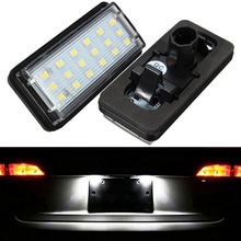 Buy 2x 18 LED 3528 Error Free Number License Plate Light Auto Bulb Car Light Fit Lexus LX470 LX570 Toyota J100/120 Land Cruiser for $13.93 in AliExpress store