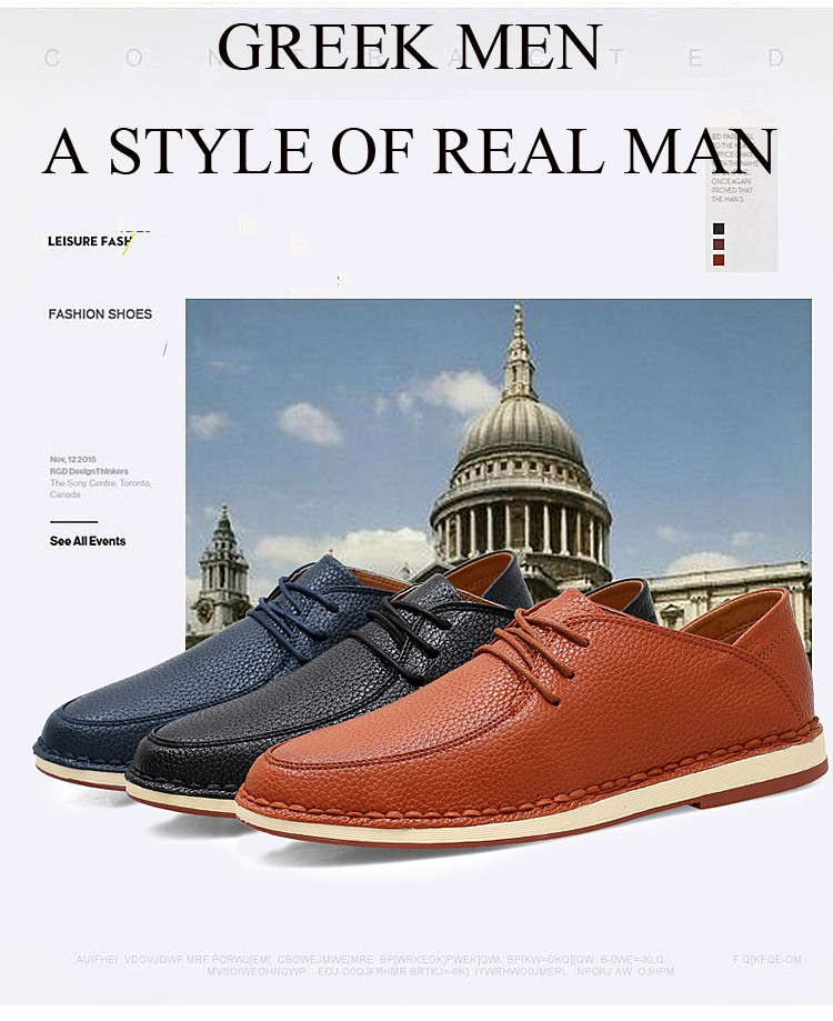 YIQITAZER 2017 New Fashion Casual Shoes Leather Man Shoes,China cheap lace up quality solid formal shoes men size7-9.5