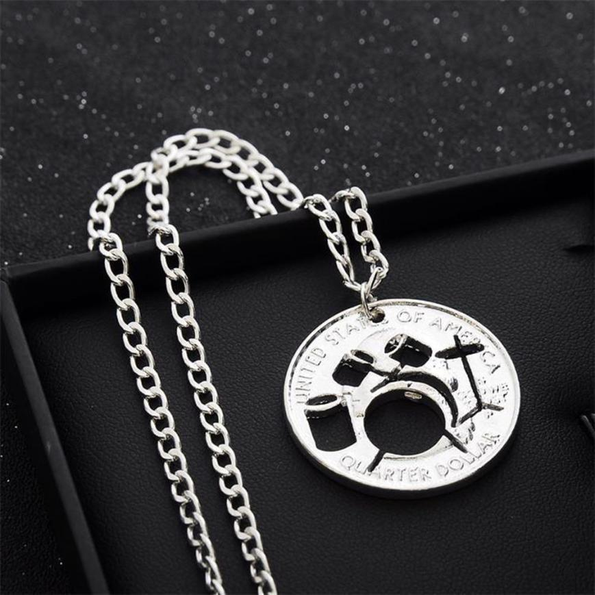 JY 18 Fairy Store 2016 Hot Selling Fashion Alloy Necklace Hollow Drums(China (Mainland))
