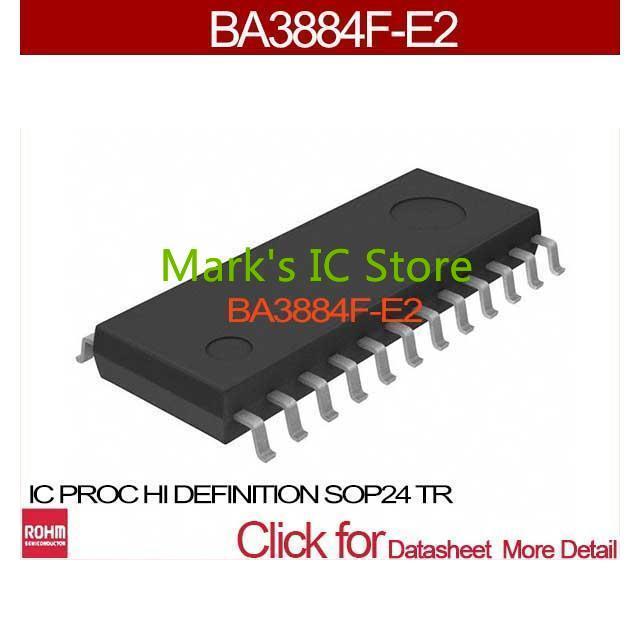 BA3884F-E2 IC PROC HI DEFINITION SOP24 TR BA3884F-E2 3884 BA3884F BA3884 3884F A3884(China (Mainland))