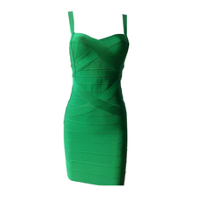 DEIVE TEGER Free Shipping 2016 New Arrival High Quality Woman Bandage Spaghetti Strap Club Party Mini Dress 14 Colors HL737(China (Mainland))