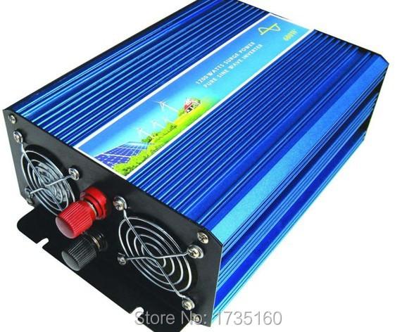 Peak 1000W Solar Inverter 500W Pure Sine Wave Car Power Inverter DC12V to AC 220V Dc 500W ac puro inverter a onda sinusoidale<br><br>Aliexpress