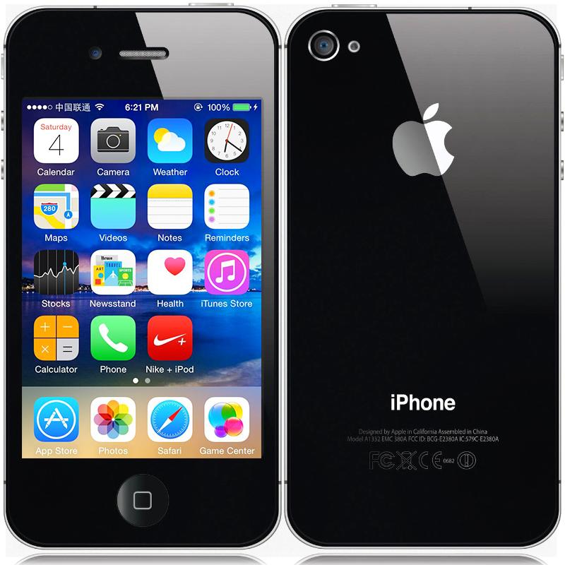 100% Original Apple iPhone 4S IOS 8 Dual Core WCDMA 3G Smart Phone 8/16/32GB ROM Mobile WIFI GPS 8MP Camera Free iTunes iCloud(China (Mainland))