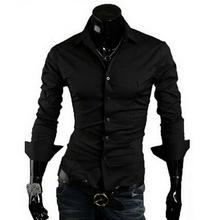 Camisa Social Masculina Slim Fit estilo casual