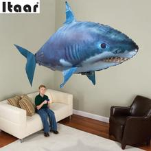 Remote Control Flying Fish RC Plastic Inflatable Blimp Animal Balloon Toys(China (Mainland))