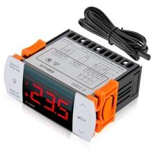 Más nuevo E-1000 110 V controlador de temperatura Digital LCD termostato regulador de temperatura controlador termopar envío gratis