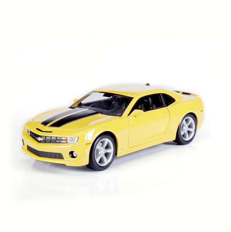 Diecast Metal Cars 1 18 Camaro 1:18 Alloy Diecast