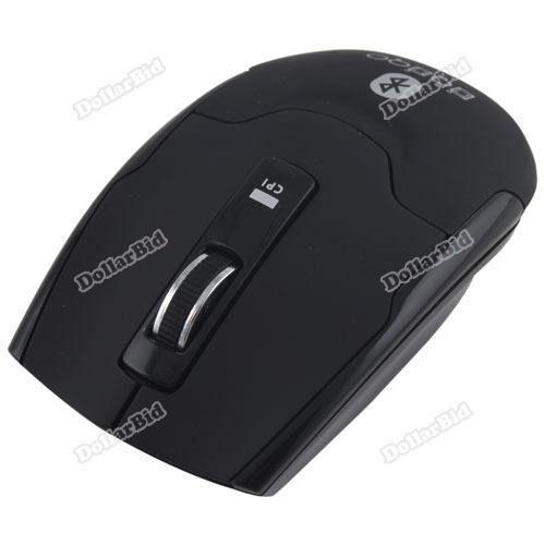 Honestsale Newest Fashion Laptop PC Notebook RF9100 Slim Wireless Bluetooth Optical 400-1600DPI Mouse Mice best(China (Mainland))