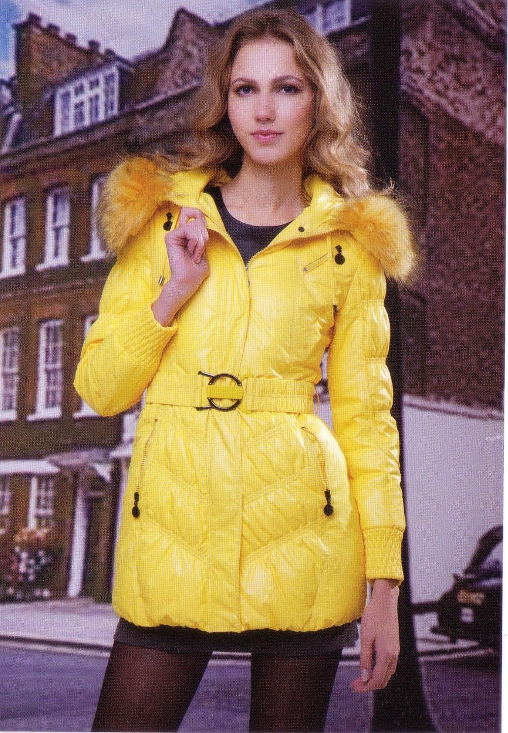 2015 Winter Coats Women Jackets Fashion Hooded Large Raccoon Fur Collar 90 White Goose Slim High-end Ladies & Parkas - Beautiful store