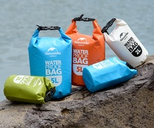 Free Shipping 4colour 2L/5L Portable Ultralight Outdoor Travel Rafting Waterproof Dry Bag Swimming Camping Hiking Stuff Storage