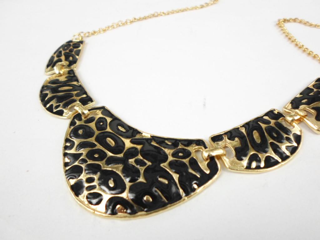 saling fashion vintage all match patchwork leopard