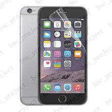 clear glossy Screen Protector Guard for iphone 6 4.7 inch cell phone without retail packaging 1000pcs/lot