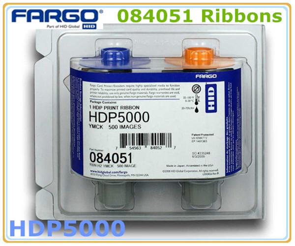 YMCK Color Ribbon HID 84051 ribbon for Fargo HDP5000 ID card printer(China (Mainland))