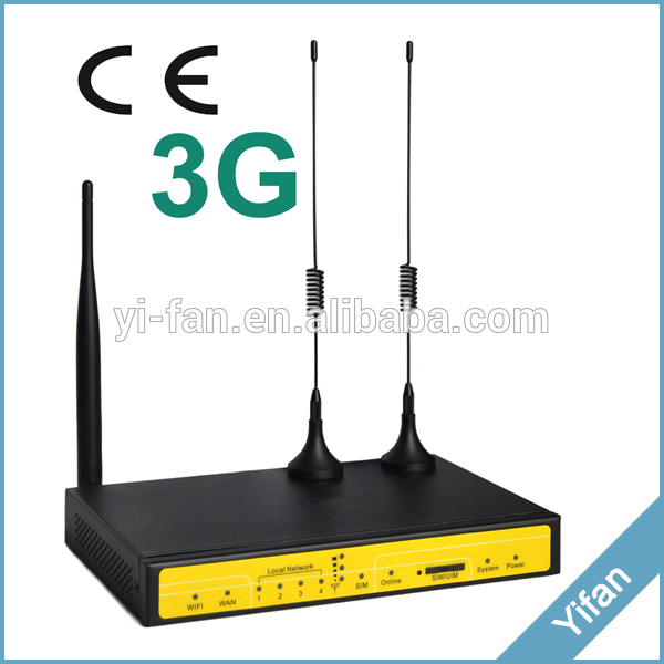 3G VPN Router industrial M2M router F3436 for video monitoring system, Kiosk, WIFI BUS(China (Mainland))