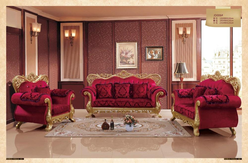 Online kopen wholesale luxe meubilair woonkamer uit china luxe meubilair woonkamer groothandel - Barokke stijl kamer ...