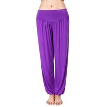 2017 New Women casual harem pants high waist dance pants dance club wide leg loose long bloomers trousers plus size,SB511(China (Mainland))