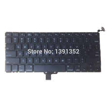 5PCS/Lot A1278 US Keyboard For Apple Macbook Pro 13'' A1278 US Keyboard Replacement 2008(China (Mainland))